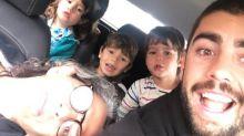 Após férias com Anitta, Scooby visita os filhos em Portugal e manda recado para namorada