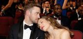 Justin Timberlake and Jessica Biel. (AP)