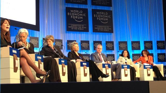 Davos tackles gender inequality