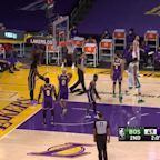Top assists from Los Angeles Lakers vs. Boston Celtics