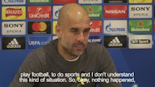 Guardiola shocked by bus attack