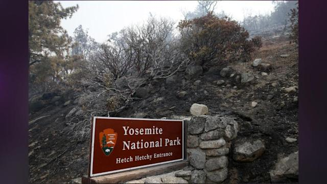 Raging California Wildfire Threatens More Of Yosemite