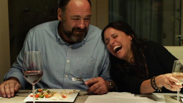 James Gandolfini and Julia Louis-Dreyfus star in