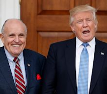 Trump says Rudy Giuliani will give information about Ukraine to Justice Department, Congress