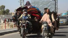 Thousands flee Taliban onslaught in southern Afghanistan