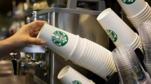 Starbucks introduces 'latte levy' of 5p on single-use paper cups
