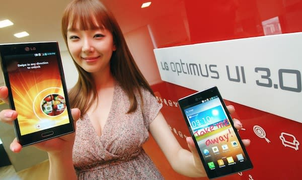 LG shows off UI 3.0 for Ice Cream Sandwich devices, says it's 'unobtrusive and simple'
