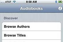 Free access to 1800 audiobooks for iPhone