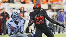No. 13 Oklahoma State's Big 12 title hopes disappear with Kansas State loss