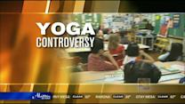 Some parents bent out of shape over school yoga
