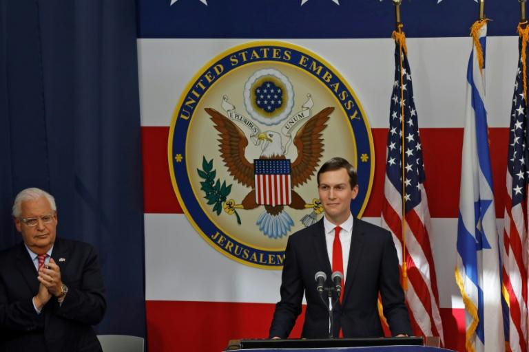 For Kushner, if Israel acts unilaterally on annexation it risks alienating regional players whose support for the broader plan is essential (AFP Photo/MENAHEM KAHANA)