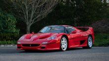 1995 Ferrari F50 Berlinetta Prototipo heads to auction