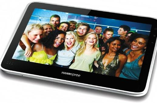 Hannspree pairs Android 2.2 with Tegra 2 for a 10.1-inch multitouch tablet