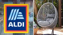 Returning Aldi Special Buy egg chair half the cost of rival brands