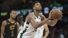 Antetokounmpo scores 44 as Bucks beat Cavs