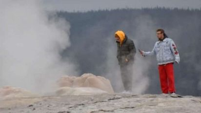 'Complete stupidity': Charges follow Old Faithful stunt