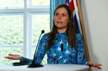 Iceland's PM will meet with Pence on Wednesday: government