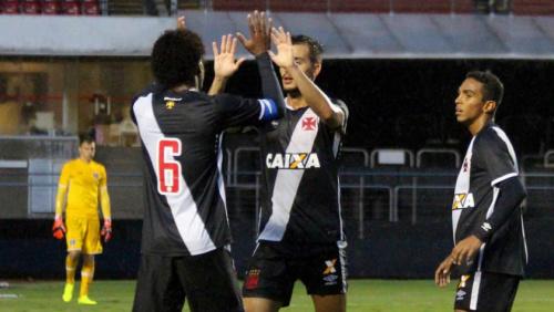 Vasco vence o São Paulo no Morumbi e avança na Copa do Brasil sub-20