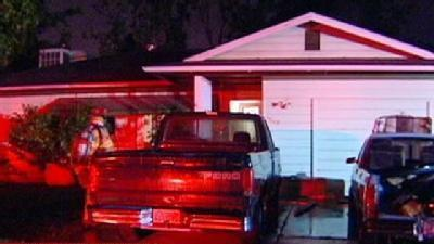 Laundry Room Burned In North Highlands House