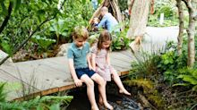 George, Charlotte and Louis 'made second private visit' to Kate's Chelsea Flower Show garden