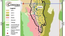 Cordoba Minerals Provides an Update on Exploration Activities at the San Matias Copper-Gold Project in Colombia