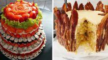 13 Wedding Cake Alternatives For Couples Who Prefer Savory Over Sweet