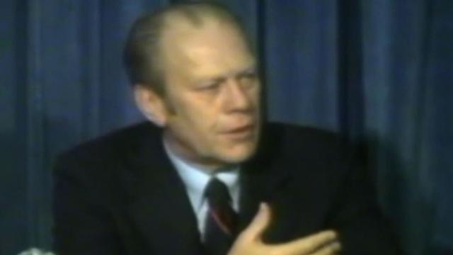 President Gerald Ford testified against would-be assassin, new tape reveals