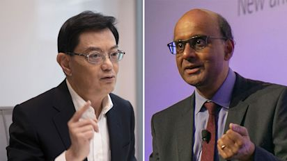 Heng Swee Keat is 'best person' be PM: Tharman