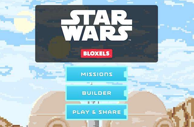 Kids can build their own Star Wars video game with Bloxels