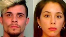 A Florida couple has been charged after being caught getting groceries, washing their car, and walking their dog despite testing positive for the coronavirus
