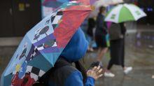 Weather warnings issued as Storm Atiyah set to sweep across Britain next week
