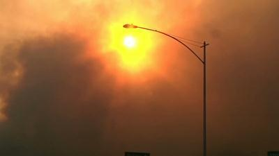 Winds Ease but Calif. Wildfire Threat Remains