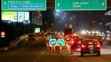 Warning signs put up at Grand Saga Highway crash site