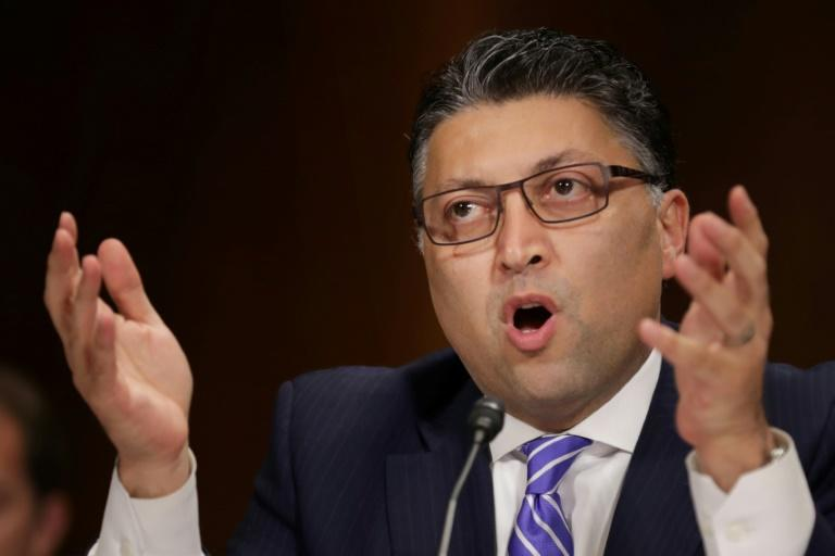 Assistant Attorney General for Antitrust Makan Delrahim said the approval of the T-Mobile Sprint deal requires the sale of assets to Dish Network, which would become a fourth national carrier (AFP Photo/CHIP SOMODEVILLA)