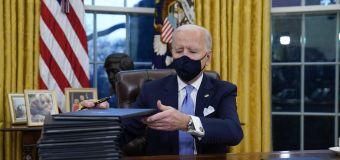 GOP alarmed at number of Biden executive orders