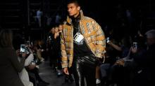 Burberry's edgy, logo-heavy look is giving it the sales jolt it needed