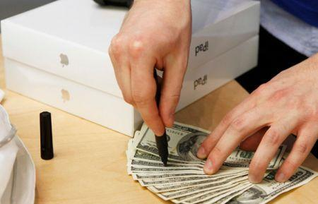 Apple gets paid for products faster than it has to pay for manufacturing