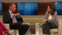 Talk bei Anne Will: Gestatten, Friedrich Merz
