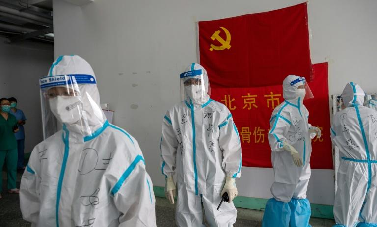 Japan's defence paper has accused China of disseminating disinformation about the coronavirus