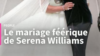 Le mariage de rêve de Serena Williams