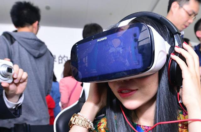 Of course Huawei is making a Gear VR rival