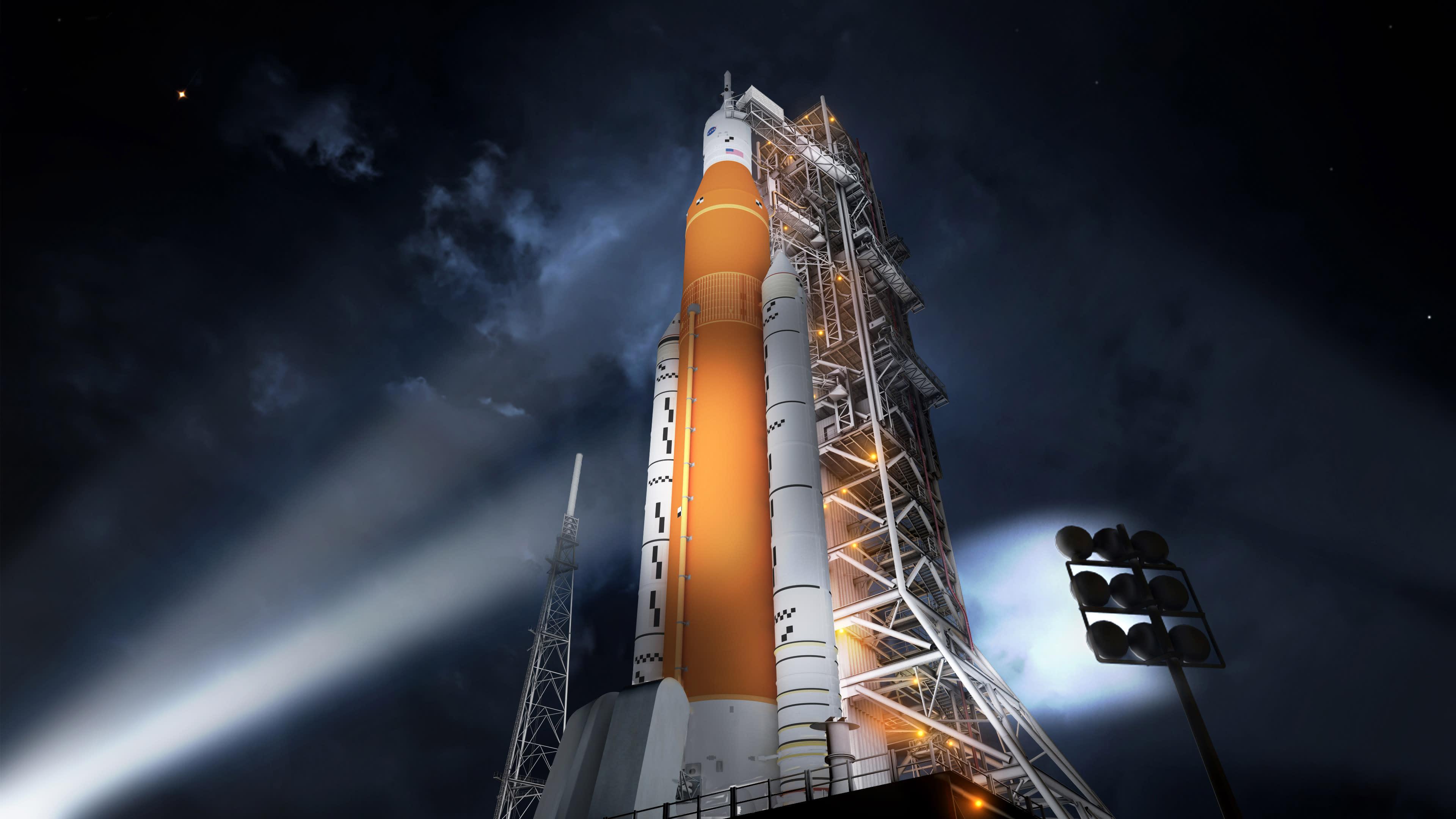 future rocket launching video - HD3840×2160
