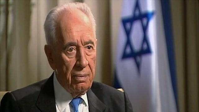 Shimon Peres: US Would Have To Take Lead in Military Strike Against Iran
