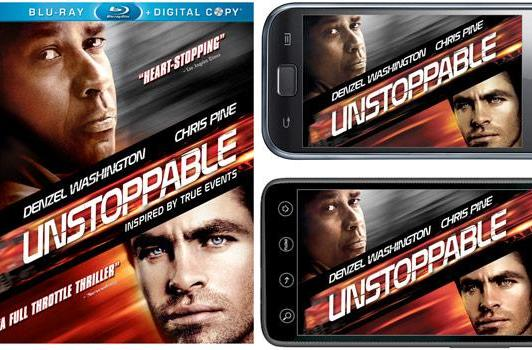 Unstoppable: the first Blu-ray film with Android-compatible Digital Copy