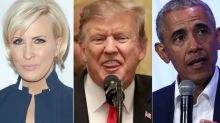 Mika Brzezinski Burns Donald Trump With Barack Obama Border Wall Gag