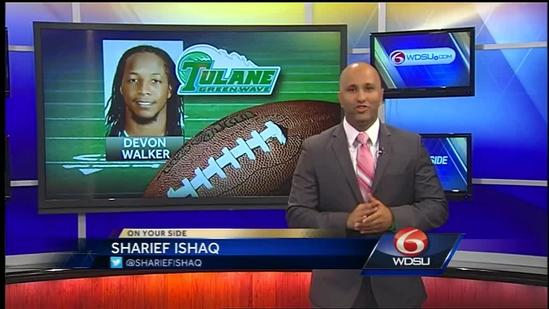 Devon Walker to graduate from Tulane University