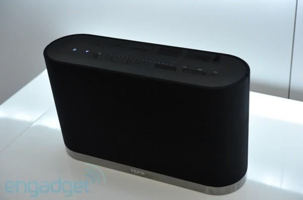 iHome iW1 AirPlay wireless speaker hands-on