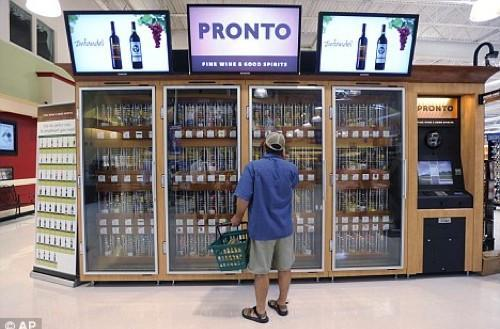 PA Walmart stores getting CCTV-enabled, breathalyzin' wine vending machines