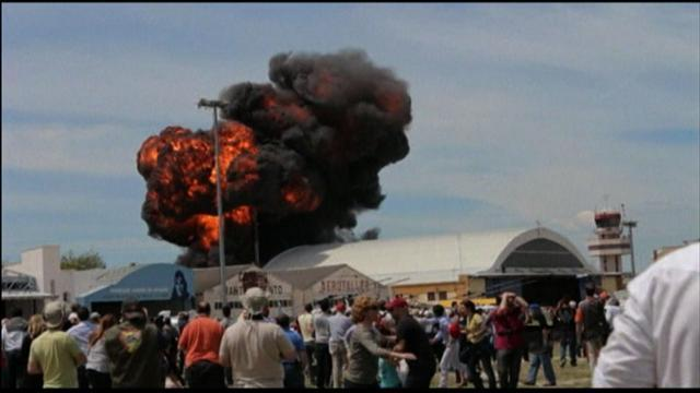 Air show in Spain ends in tragedy