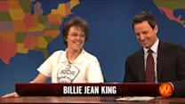Weekend Update: Billie Jean King